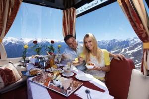 Außergewoehnliche Gastraeume in Tourismusmagazin PUR: Genussgondel