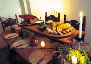 Außergewoehnliche Gastraeume in Tourismusmagazin PUR: Ritterkuchl Hall
