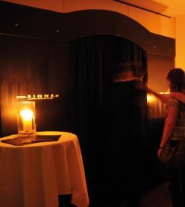 Außergewoehnliche Gastraeume in Tourismusmagazin PUR: Unsichtbares Restaurant SINNE
