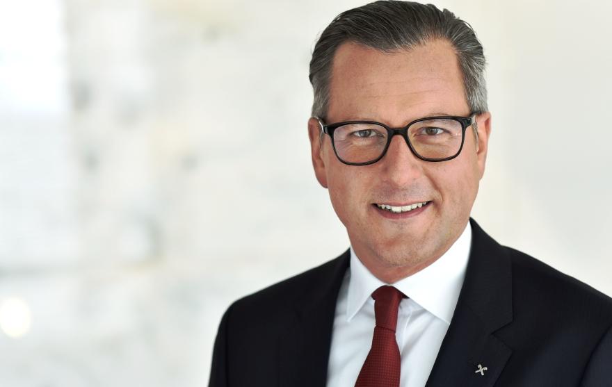 Vorstandssprecher der Raiffeisenbank Tirol Dr. Johannes Ortner